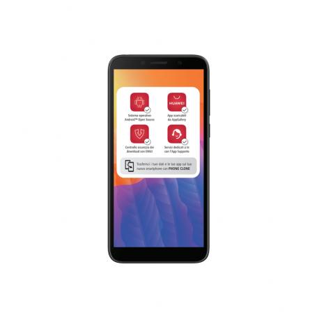 HUAWEI Y5P-BK S.PHONE 2SIM 5,45HD  8CORE 2/32GB 8MP FRONT 5MPHM