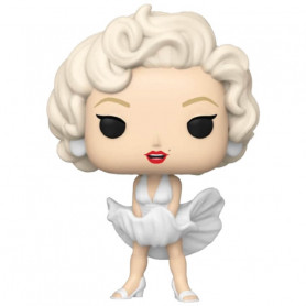 Funko Figure POP  Icons - Marilyn Monroe  vestito bianco