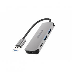SITECOM CN-399 HUB USB-A 3.1 A 2X USB-A 3.1 2X USB-C 3.1 POWER D