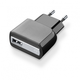 CELLULAR ACHUSBMOBILE2AK CARICABATTERIA RETE USB 2A NERO