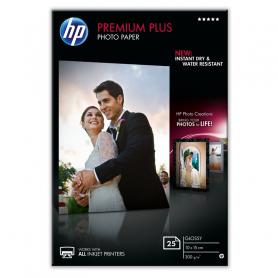 HP CR677A PREM.PLUS GLOSSY PHOTO PAPER 10X15 300GR 25FG