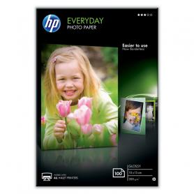 HP CR757A EVERYDAY PHOTO PAPER SATINATA A6 10x15CM 200GR 100FF