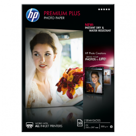 HP CR673A PREMIUM PLUS PHOTO PAPER SEMILUCIDA A4 20FF