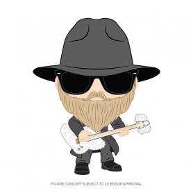 Funko Figure POP  Rocks: ZZ Top - Dusty Hill