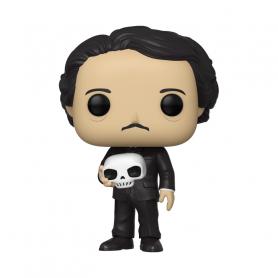 Funko Figure POP  Icons - Edgar Allan Poe  con teschio