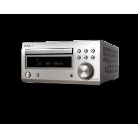 DENON RCD M41 DAB SILVER SINTOAMPLIFICATORE CON LETTORE CD E BLUETOOTH