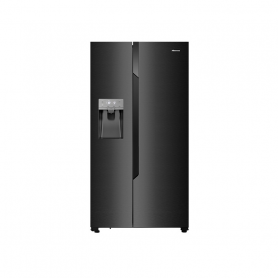 HISENSE RS694N4TF2 FRIGO SBS 2P BLACKINOXFABBR