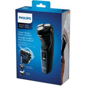 PHILIPS S3134/51 RASOIO SERIES 3000 WET/DRY LAME POWERCUT 5D 60MIN