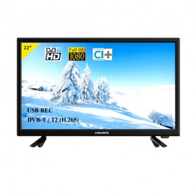 NEWMAJESTIC TVD222/S2 MP11 TV LED FULL HD DA 22  USB RECORDING