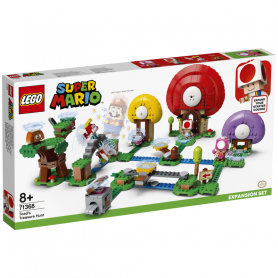 LEGO SUPER MARIO 71368 CACCIA AL TESORO DI TOAD - PACK DI ESPANSIONE