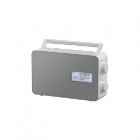 PANASONIC RFD30BTEGW RADIO DAB BT USB IPX4 BIANCA