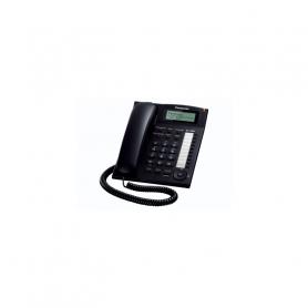 PANASONIC KXTS880EXB TELEFONO DA TAVOLO CON LCD VIVAVOCE JACK CUFFIA BLACK