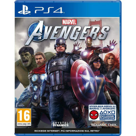 SQUARE-ENIX Marvel's Avengers PS4