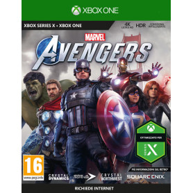 SQUARE-ENIX Marvel  s Avengers XBOX ONE