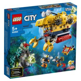 LEGO 60264 CITY OCEANS SOTTOMARINO DA ESPLORAZIONE OCEANICA