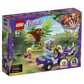 LEGO 41421 LEGO FRIENDS SALVATAGGIO NELLA GIUNGLA DELL ELEFANTINO