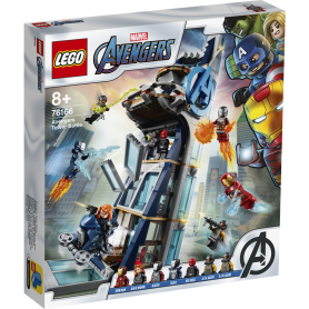 LEGO 76166 SUPER HEROES AVENGERS TOWER BATTLE