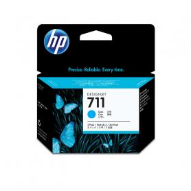 HP CZ134A 711 CIANO PACCO TRIPLO CARTUCCIA