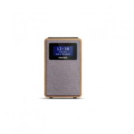 PHILIPS TAR5005-10 RADIO DAB PORTATILE LEGNO