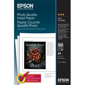 EPSON C13S041061 CARTA SPECIALE FOTO 1440DPI A4 102GR 100FOGLI