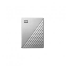 W.D. WDBFTM0040BSL MY PASSPORT ULTRA 4TB USB 3.0 USB-C 2.5  SILVER HARD DISK ESTERNO