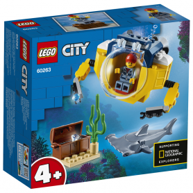 LEGO 60263 CITY OCEANS MINISOTTOMARINO OCEANICO