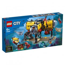 LEGO 60265 CITY OCEANS BASE PER ESPLORAZIONI OCEANICHE