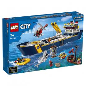 LEGO 60266 CITY OCEANS NAVE DA ESPLORAZIONE OCEANICA