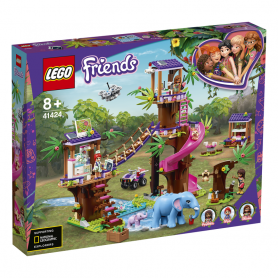 LEGO 41424 LEGO FRIENDS BASE DI SOCCORSO TROPICALE