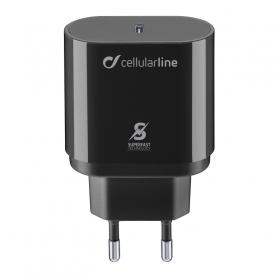 CELLULAR ACHSMUSBCPD25WK CARICABATTERIE RETE SAM USB-C 25W NERO