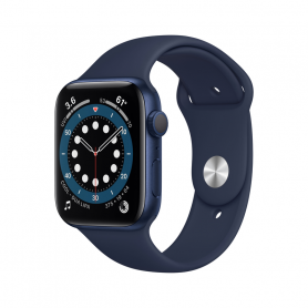 APPLE WATCH SERIES 6 GPS, 44MM BLUE M00J3TY/A