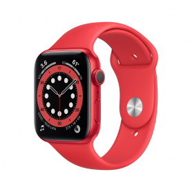 APPLE WATCH SERIES 6 GPS, 44MM RED  M00M3TY/A