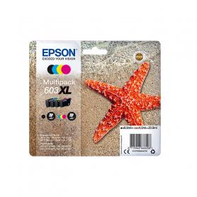 EPSON C13T03A64010 PAKC 4 CARTUCCE 603XL BK C M Y  STELLA MARINA