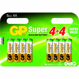 GP SUPER BLISTER STILO AA 4 4 GP1A8/EWD