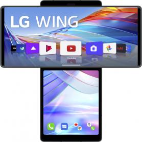 LG LMF100EMW. S.PHONE WING PIEGHEVOLE 6,8FHD 8/128GB 64  13 12M