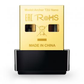 TP-LINK ARCHER T2U NANO UDATTATORE USB WI-FI AC600 NANO