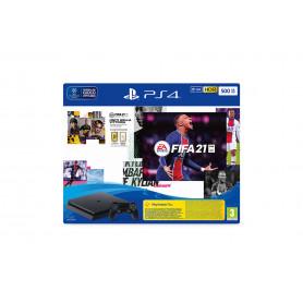 Sony Playstation 4 Slim 500GB + Fifa 21 + FUT 21 VCH Nero Wi-Fi