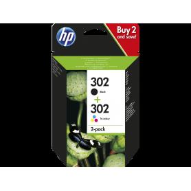 HP X4D37AE COMBO PACK CARTUCCE 302 NERO   COLORI