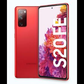SAMSUNG GALAXY S20 FE RED 6,5FHD   120HZ8CORE 6/128GB 12 8 12MP