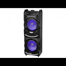 TREVI XF4500DJ ALTOPARLANTE TROLLEY MIX FADER BT MP3 USB AUX IN2