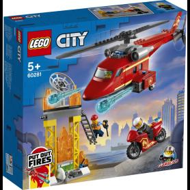 LEGO CITY FIRE 60281 ELICOTTERO ANTINCENDIO