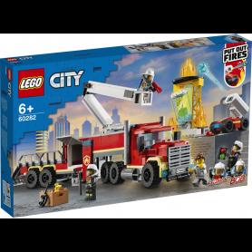 LEGO CITY FIRE 60282 UNIT   DI COMANDO ANTINCENDIO