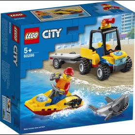 LEGO CITY GREAT VEHICLES 60286 ATV DI SOCCORSO BALNEARE