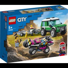 LEGO CITY GREAT VEHICLES 60288 TRASPORTATORE DI BUGGY DA CORSA