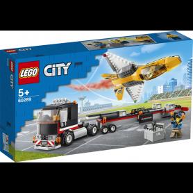 LEGO CITY GREAT VEHICLES 60289 TRASPORTATORE DI JET ACROBATICO