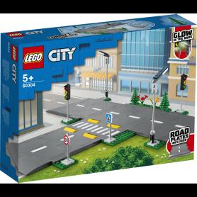 LEGO CITY TOWN 60304 PIATTAFORME STRADALI