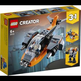 LEGO CREATOR 31111 CYBER-DRONE