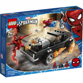 LEGO SUPER HEROES 76173 SPIDER-MAN E GHOST RIDER VS. CARNAGE