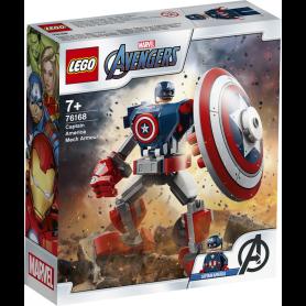 LEGO SUPER HEROES 76168 Captain America Mech Armor
