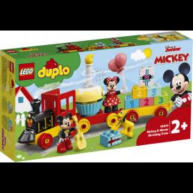 LEGO DUPLO DISNEY TM 10941 IL TRENO DEL COMPLEANNO DI TOPOLINO E MINNIE